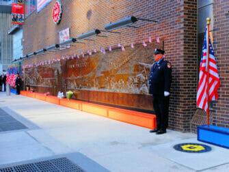 911 muistopaiva New Yorkissa - muistomerkki