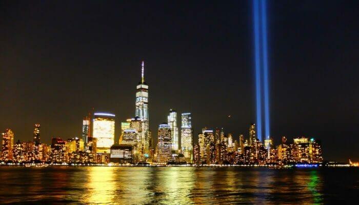 911 muistopaiva New Yorkissa - Tribute in Light