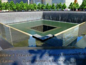 New York Explorer Pass ja New York Pass -kaupunkipassien erot - 9/11 Memorial