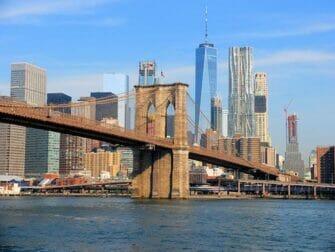 New York Explorer Pass ja New York Pass -kaupunkipassien erot - Brooklynin silta