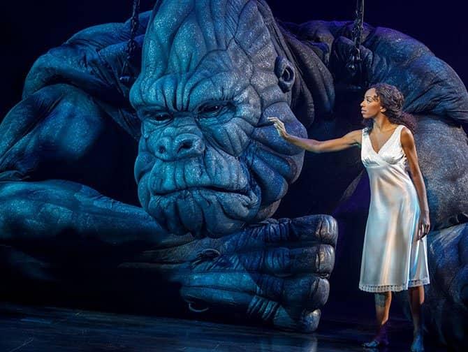 King Kong the Musical Broadway-liput - King Kong ja Ann