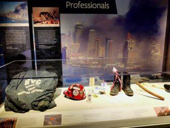 9/11 Tribute Museum New Yorkissa - Esineitä