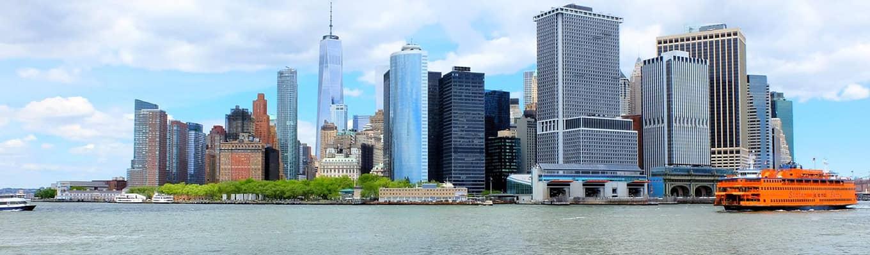 Kaupunkiristeilyt New Yorkissa