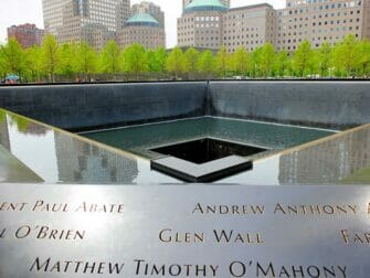 Yksityinen opastettu kierros New Yorkissa - 9/11-muistomerkki
