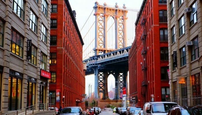 Yksityinen opastettu kierros New Yorkissa - Manhattan Bridge