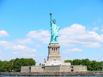 New York Sightseeing Flex Pass ja New York Explorer Pass -kaupunkipassien erot - Vapaudenpatsas