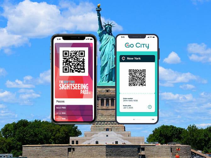 New York Sightseeing Flex Pass ja New York Explorer Pass -kaupunkipassien erot