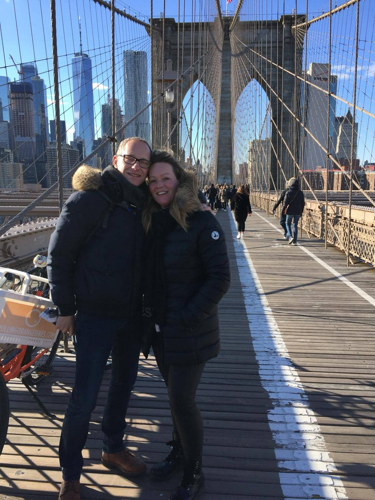 Voita matka New Yorkiin - Brooklyn Bridge