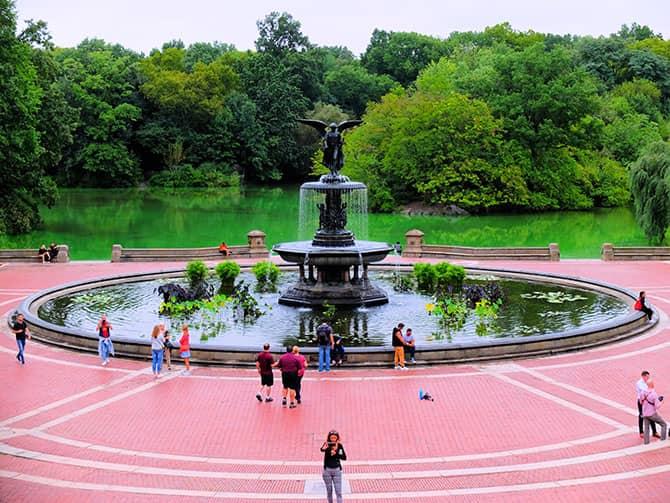 Pyöräretki New Yorkissa sähköpyörällä - Central Park