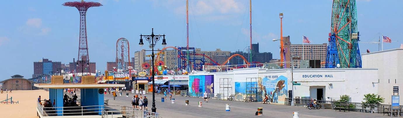 Kesä kaupungissa: Coney Island