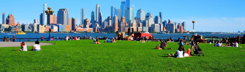 New Yorkin kauneimmat puistot