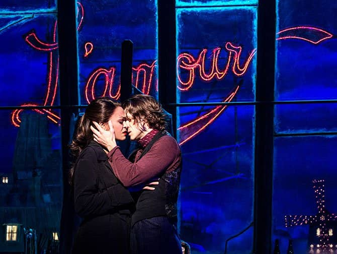 Moulin Rouge! The Musical Broadway-liput - L'amour
