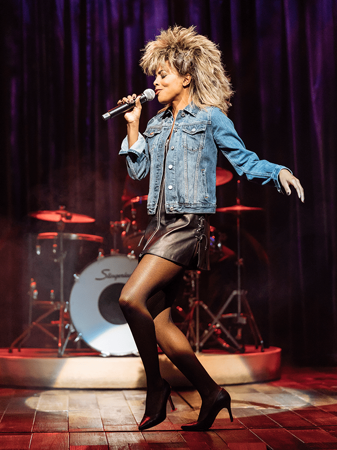 The Tina Turner Musical Broadway-liput - Ikoninen look
