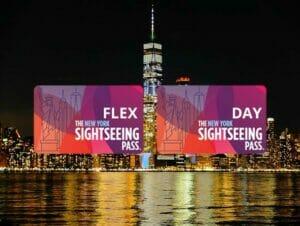New York Sightseeing Flex Pass ja Sightseeing Day Pass  kaupunkipassien erot