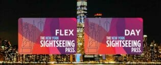 New York Sightseeing Flex Pass ja Sightseeing Day Pass  kaupunkipassien erot