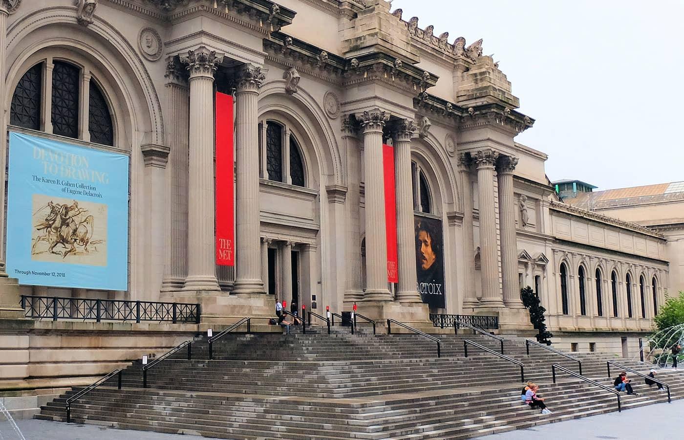 New York Sightseeing Flex Pass ja Sightseeing Day Pass -kaupunkipassien erot - The Met