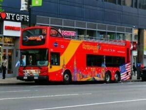 New York bussikierros ja nähtävyys alennuspaketti