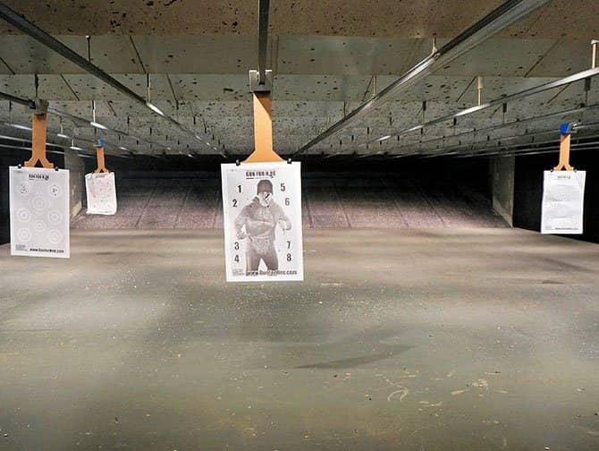 Ampumarata New Yorkissa - Maalitaulu