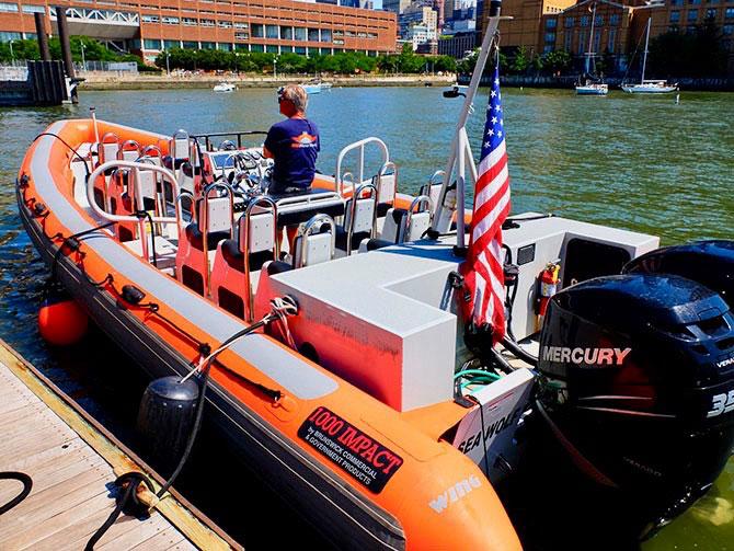 Pikavene-ajelu New Yorkissa - RIB-vene