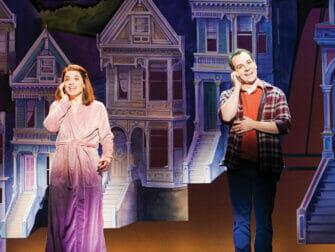 Mrs Doubtfire Broadway-liput - Puhelimessa