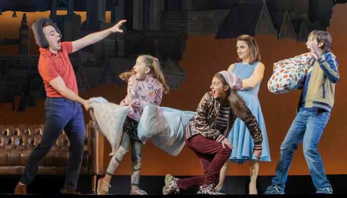 Mrs Doubtfire Broadway-liput - Tyynysota