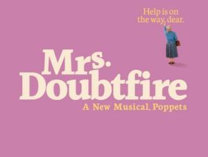Mrs. Doubtfire Broadway-liput