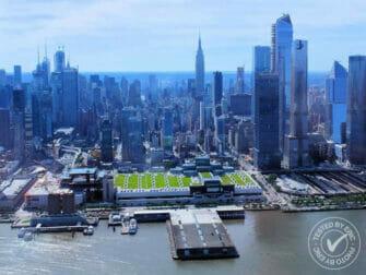 New York Helikopterilento - Hudsonjoen yllä