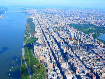 New York Helikopterilento - Näkymä Central Parkista