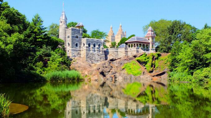 Belvedere Castle Central Parkissa – Zoom