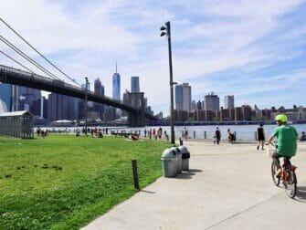 Ympäristöystävällinen matka New Yorkiin - Pyöräily Brooklynissa