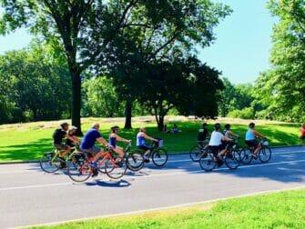 Ympäristöystävällinen matka New Yorkiin - Pyöräily Central Parkissa