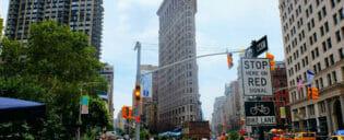 Flatiron Building New Yorkissa