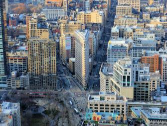 Flatiron Building New Yorkissa - Näkymä
