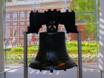 Alennuspassit Philadelphian nähtävyyksille - Liberty Bell