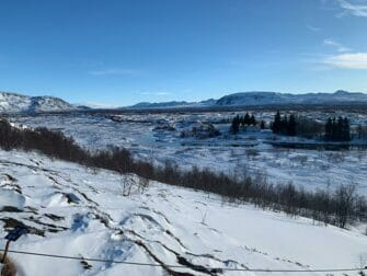 Välilasku Islantiin New Yorkin matkalla Thingvellir