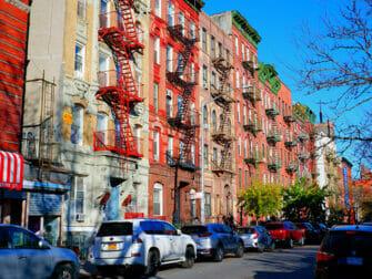 Lower East Side New Yorkissa - Paloportaat