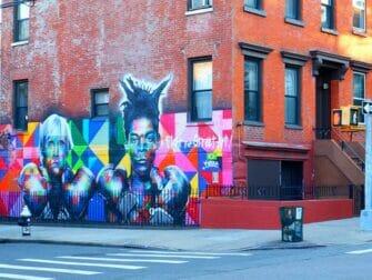 Williamsburg Brooklynissa - Katutaidetta