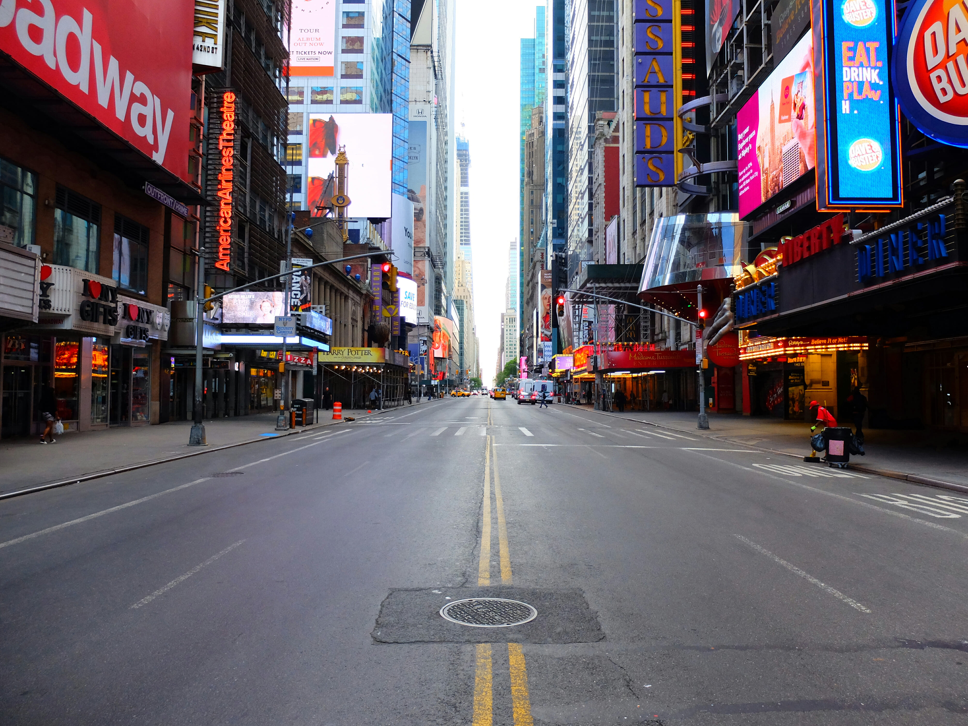 42nd Street in New York High Quality Wallpaper