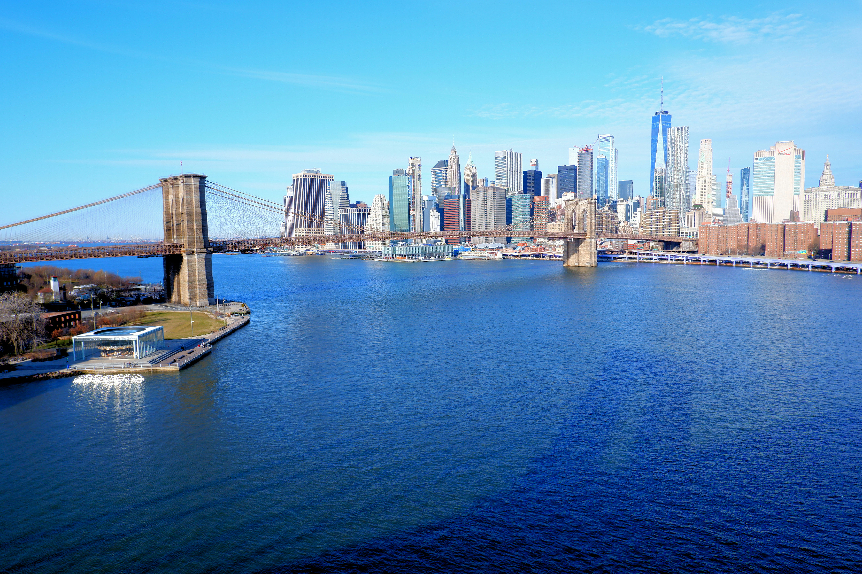 Brooklyn Bridge Jane Carousel Skyline High Quality Wallpaper