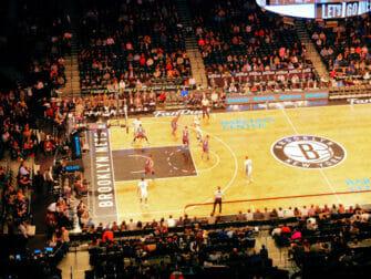 Brooklyn New Yorkissa - Urheilutapahtuma