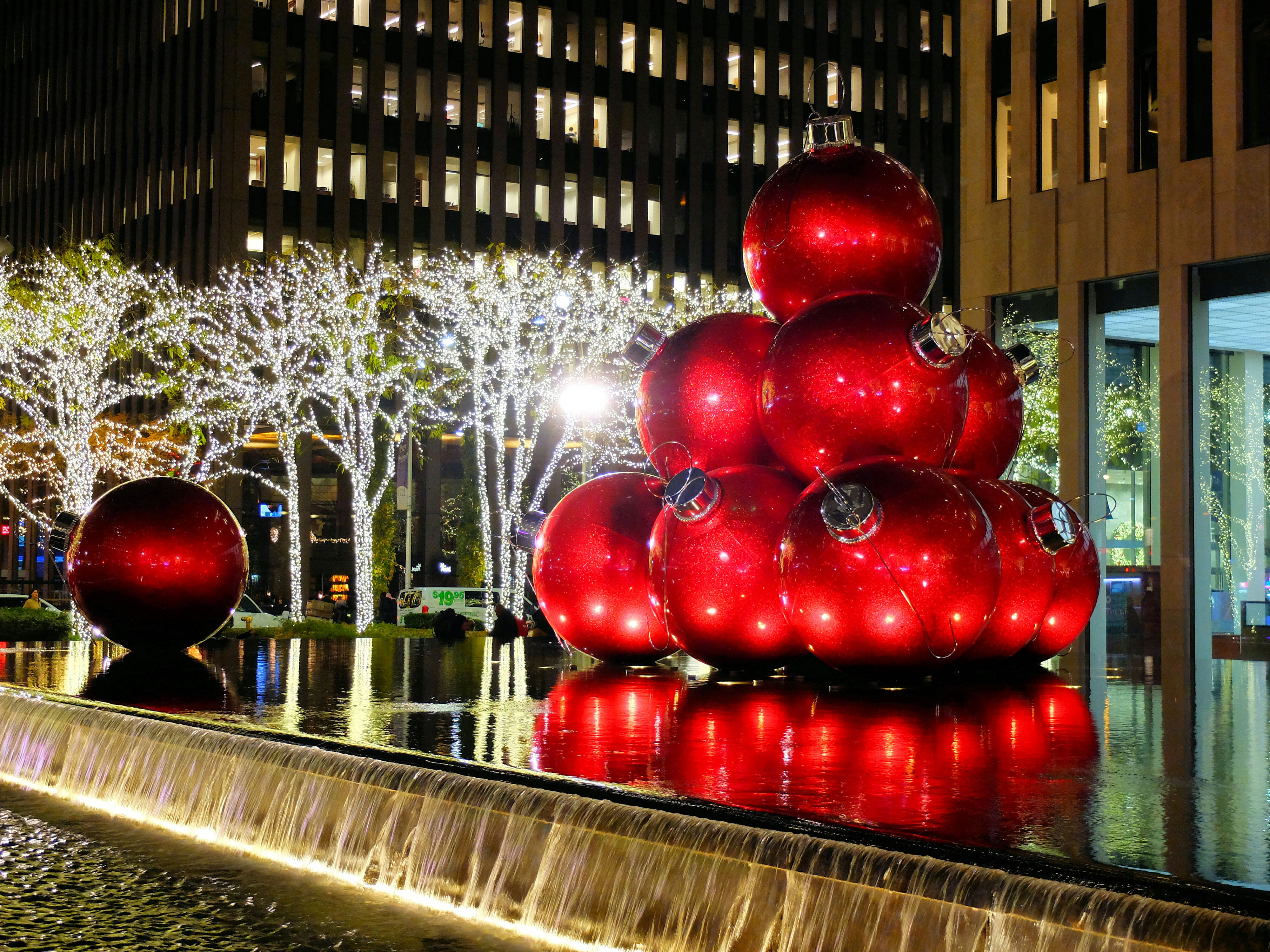 Christmas in New York High Quality Wallpaper