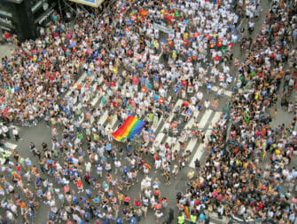 Ruuhkaa Gay Pridessa New Yorkissa
