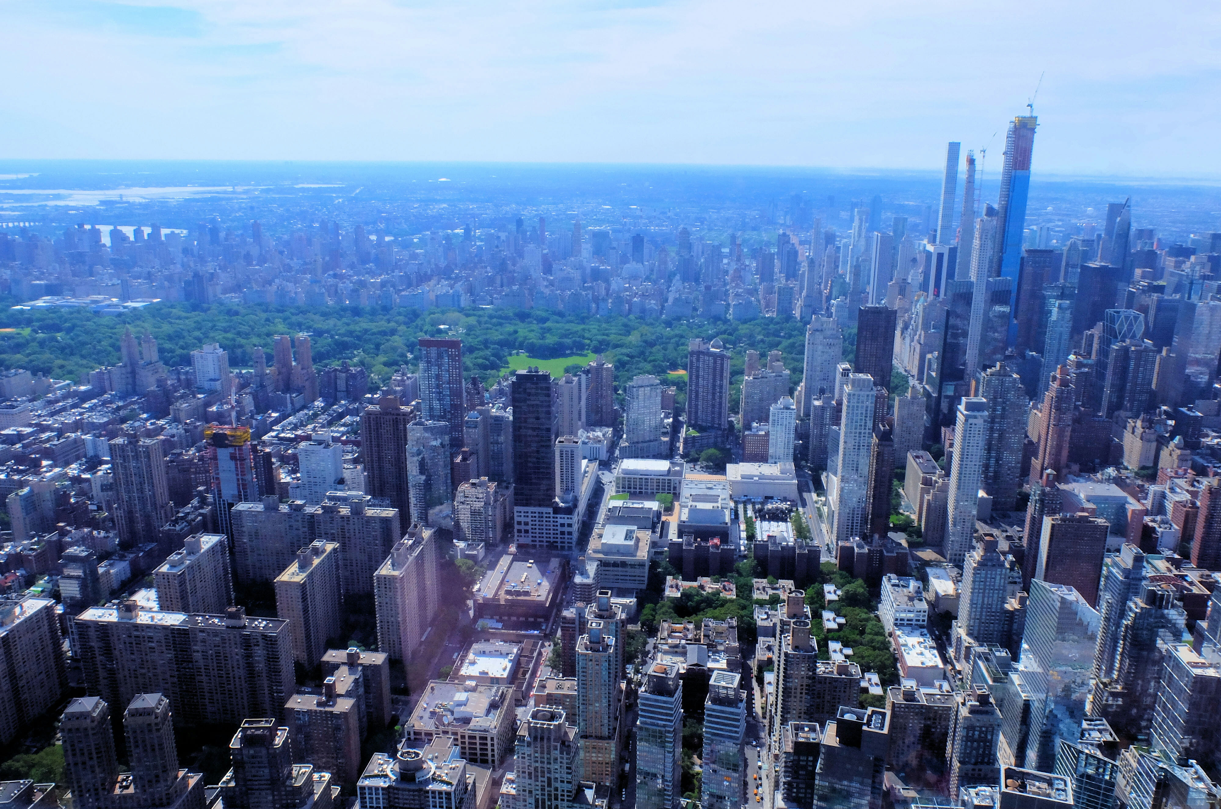 Helicopter Tour in New York Central Park High Quality Wallpaper