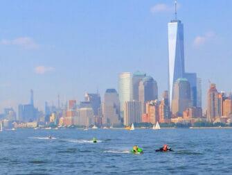 Vesijetti vuokraus New Yorkissa One World Trade Center