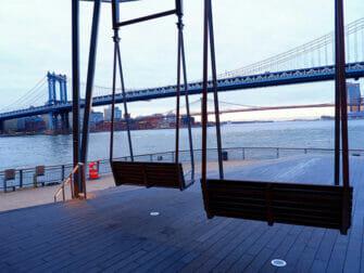 Manhattan Bridge New Yorkissa - Näköala