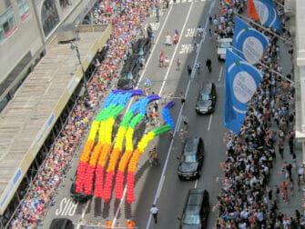 New York Gay Pride - Sateenkaaret