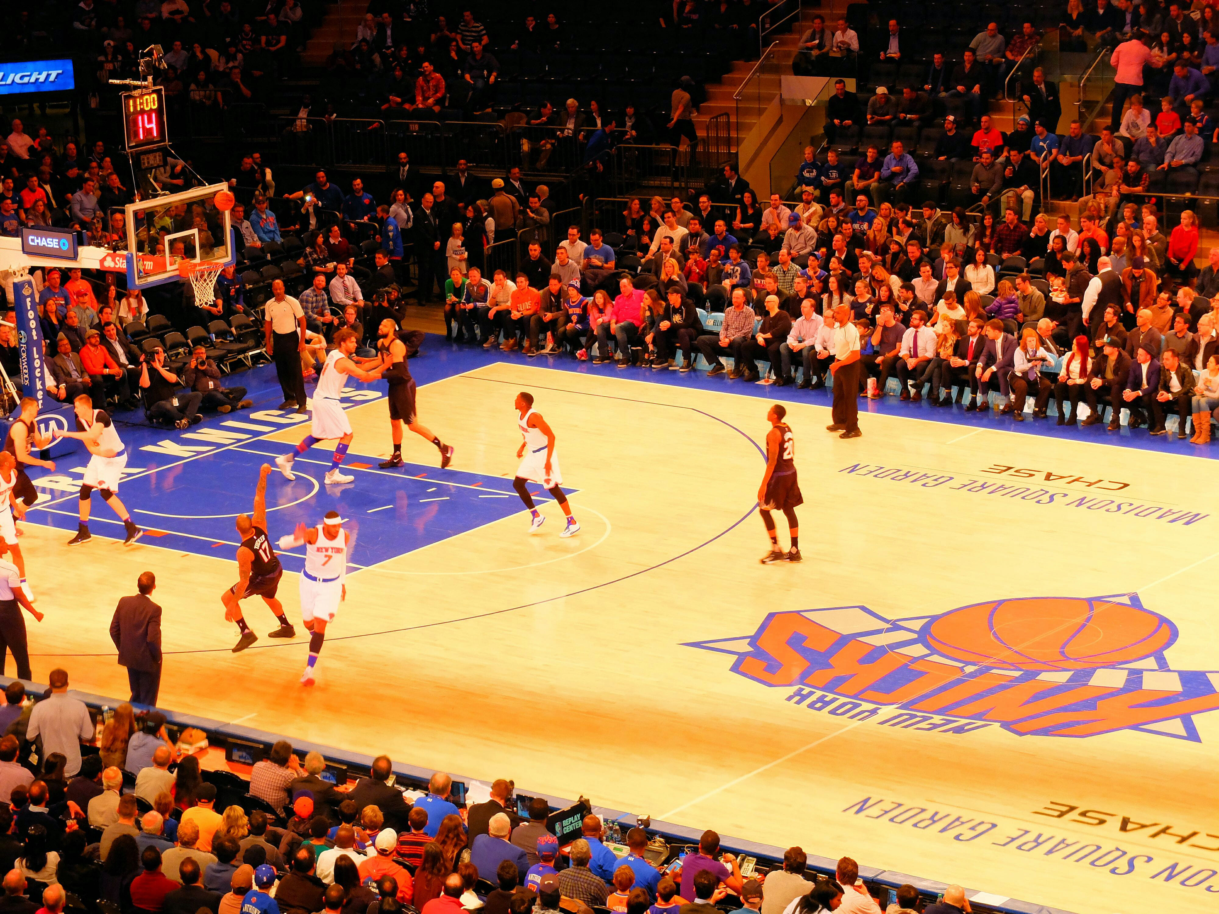 New York Knicks Basketball High Quality Wallpaper