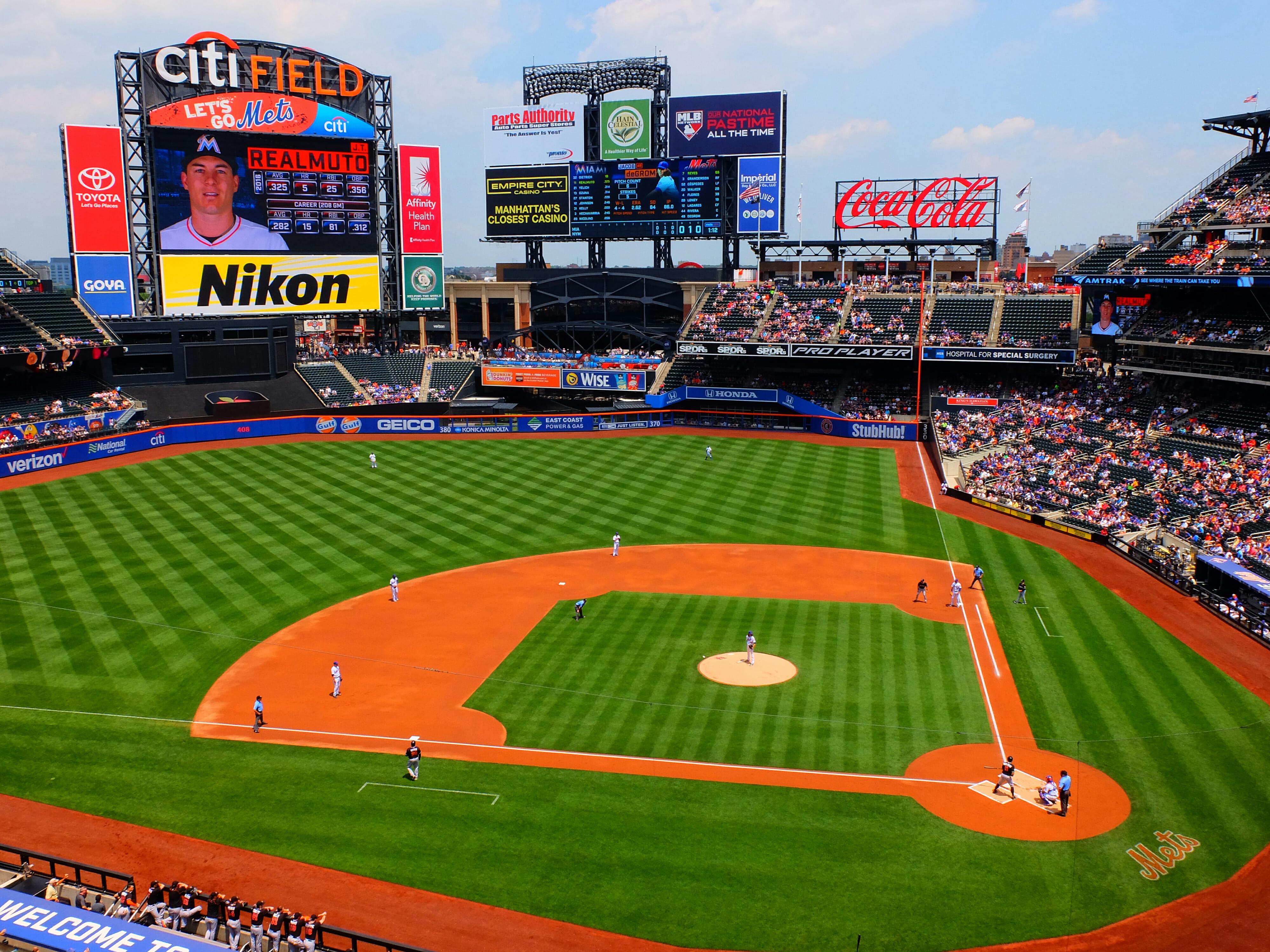 New York Mets Baseball High Quality Wallpaper