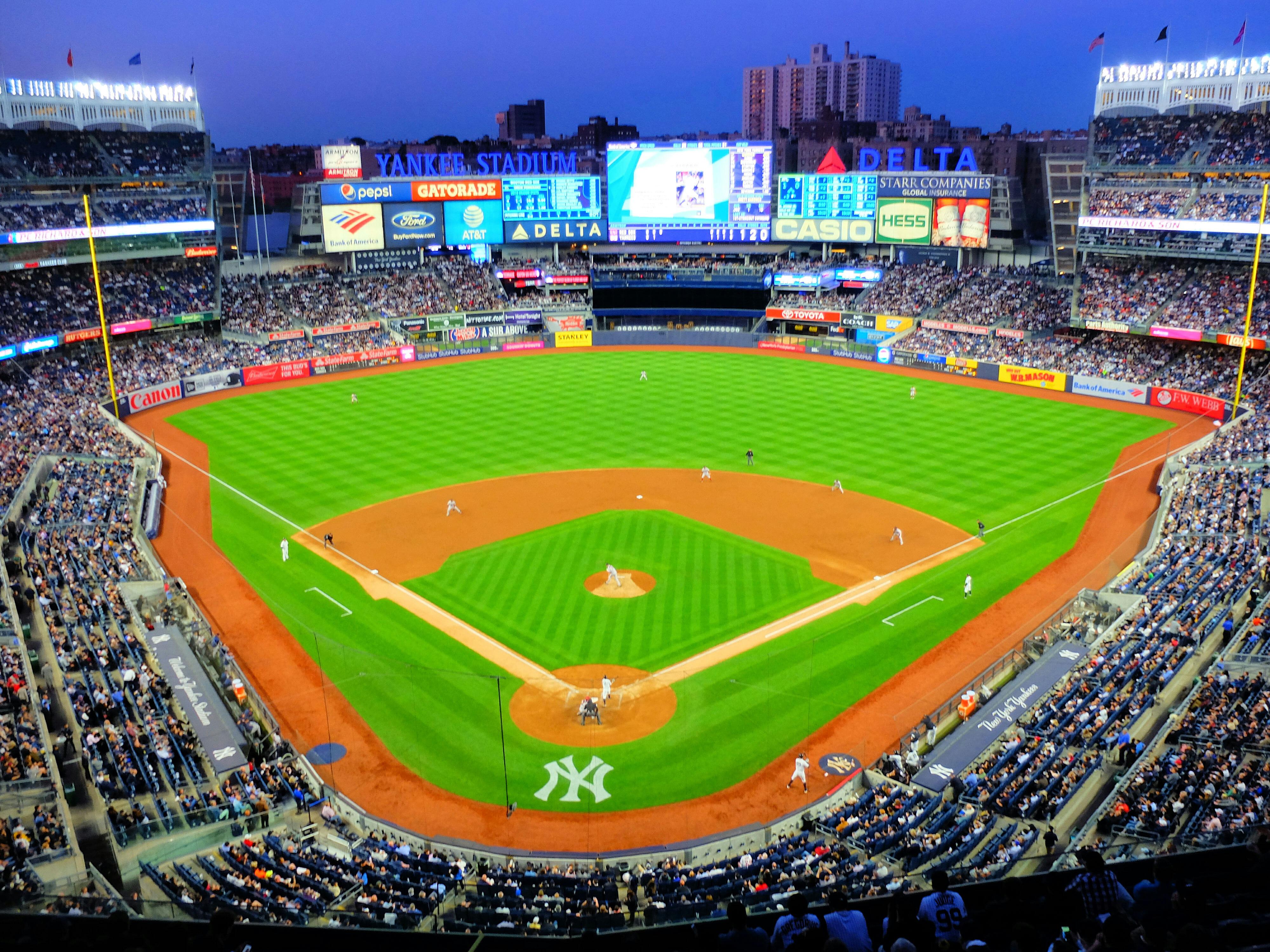 New York Yankees Baseball High Quality Wallpaper