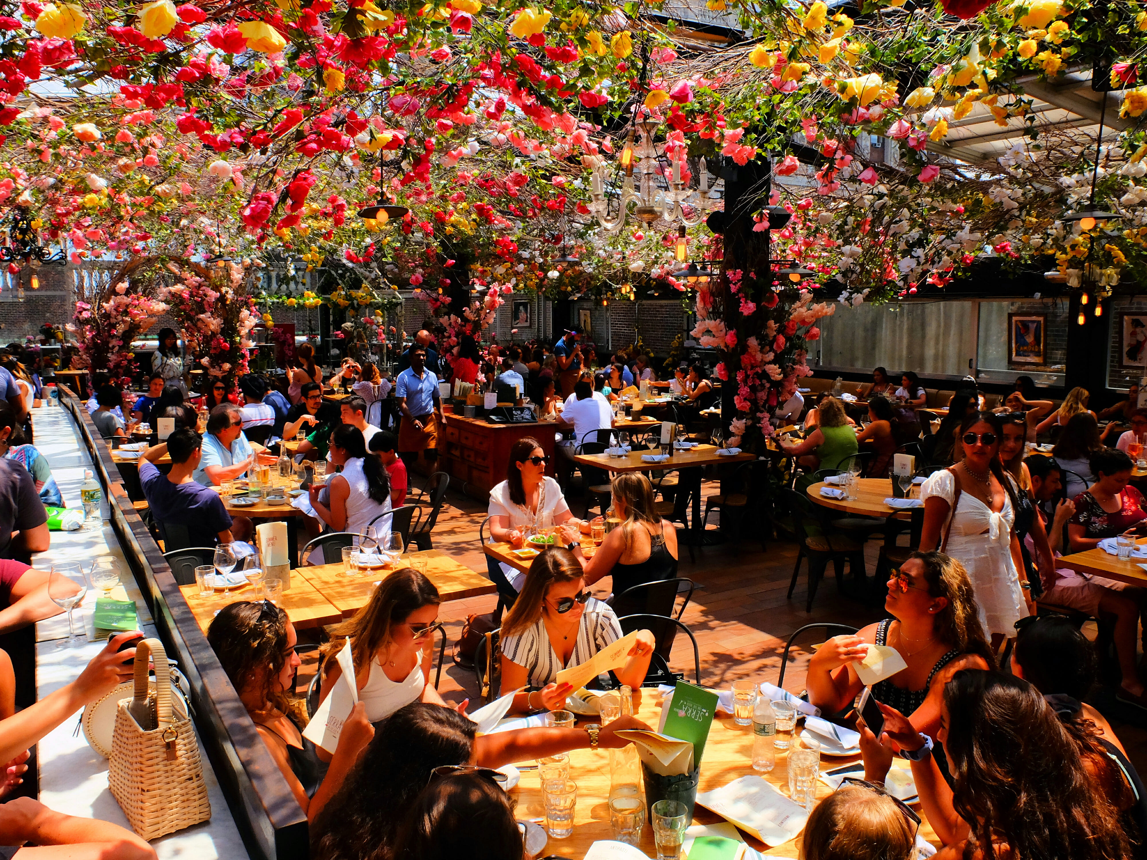 SERRA by Birreria Rooftop at Eataly in New York High Quality Wallpaper